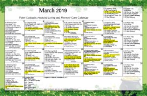 Palm Cottages - Calendar